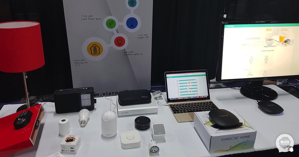 #CES2018 Viaroom Home: la box qui ajoute de l'intelligence artificielle à votre installation domotique