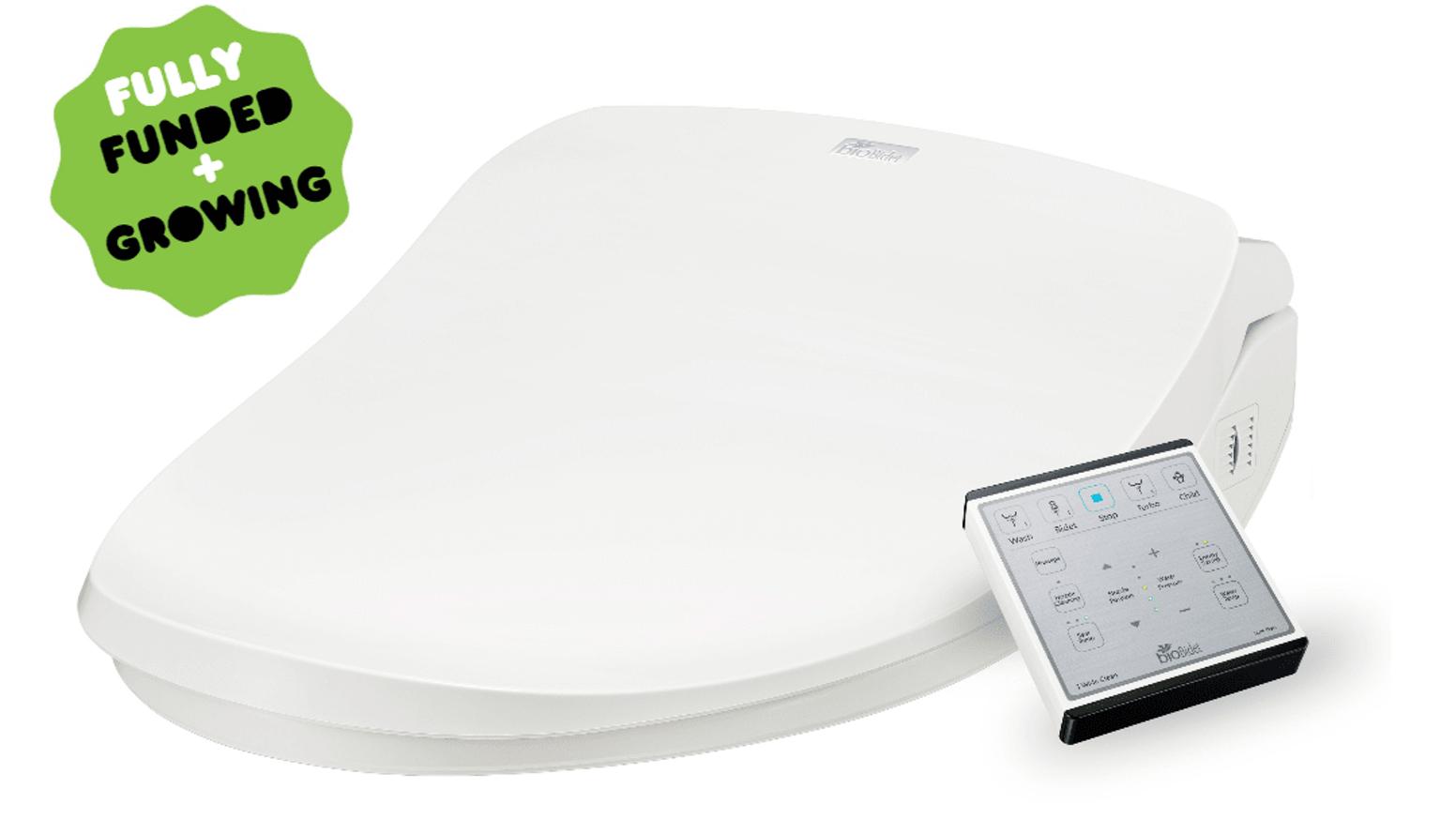 Slim TWO Smart Toilet Seat: le rabat de toilette intelligent…