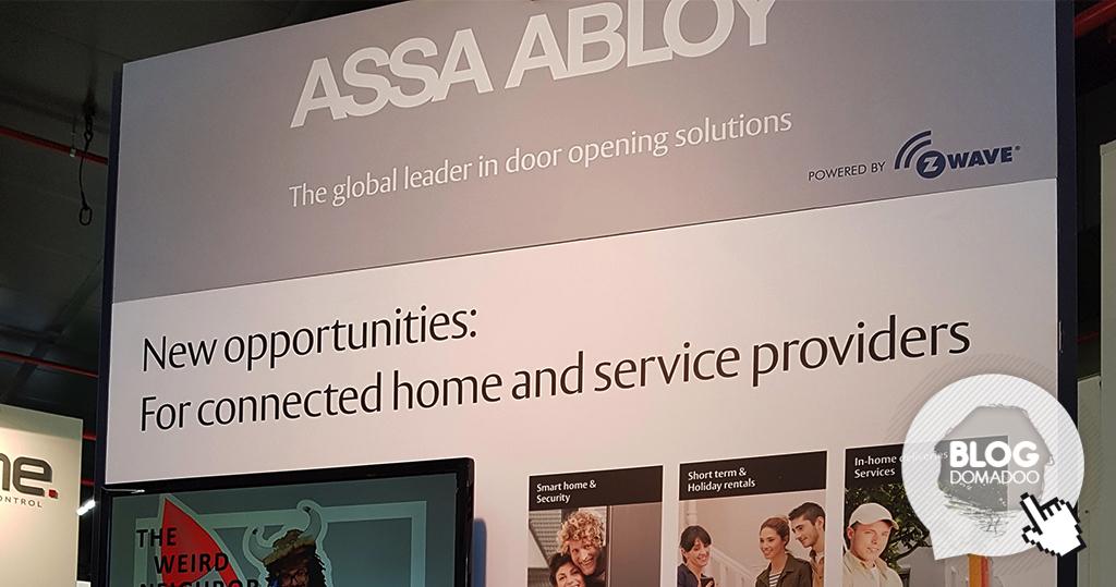 #ISE 2018 – Assa Abloy présente ENTR et ses serrures connectées