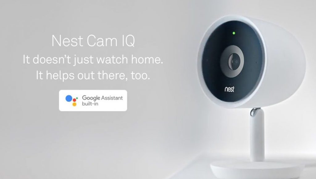 Nest Cam IQ Google Assistant