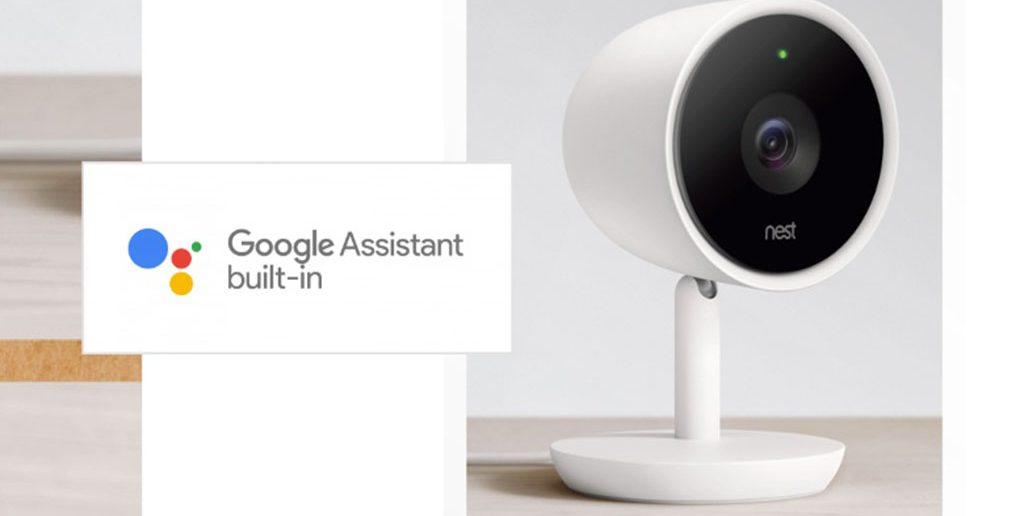 Nest Cam IQ Google Assistant une