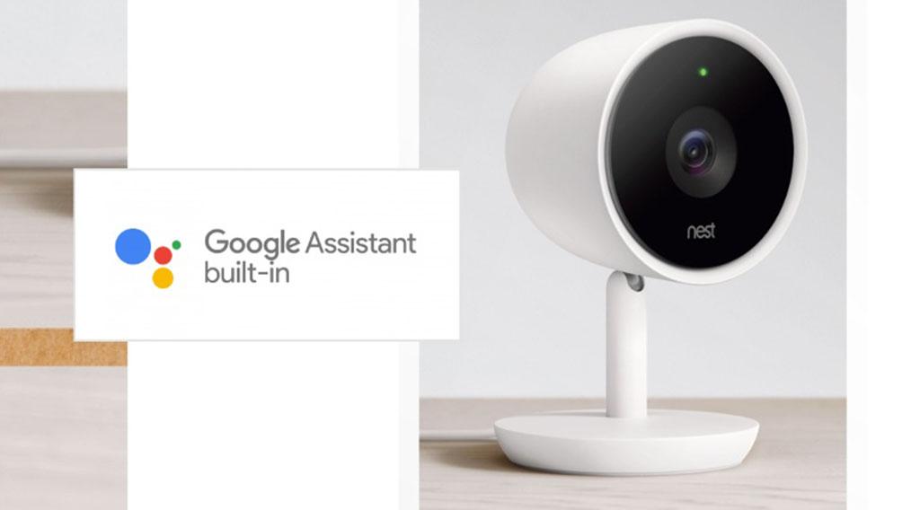 La caméra Nest Cam IQ Indoor intègre Google Assistant