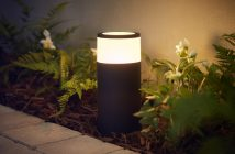 Philips Hue outdoor Calla pedestal une