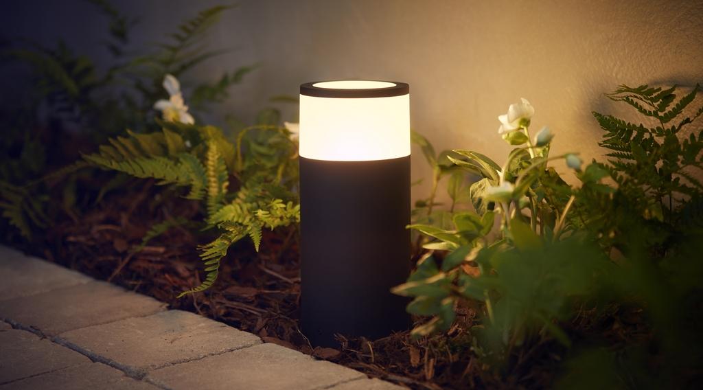 Philips Hue annonce une gamme d'éclairage extérieur et de nouveaux partenaires