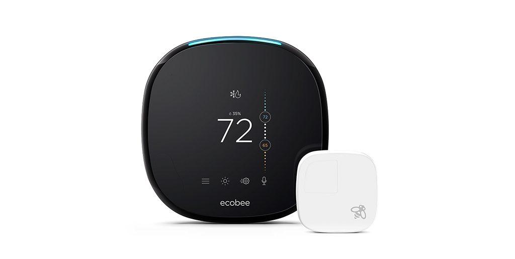 ecobee4 with sensor