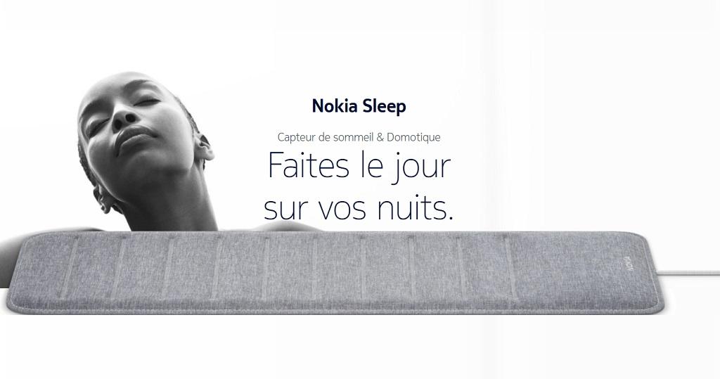 Nokia Sleep, le tracker de sommeil qui souhaite améliorer vos nuits