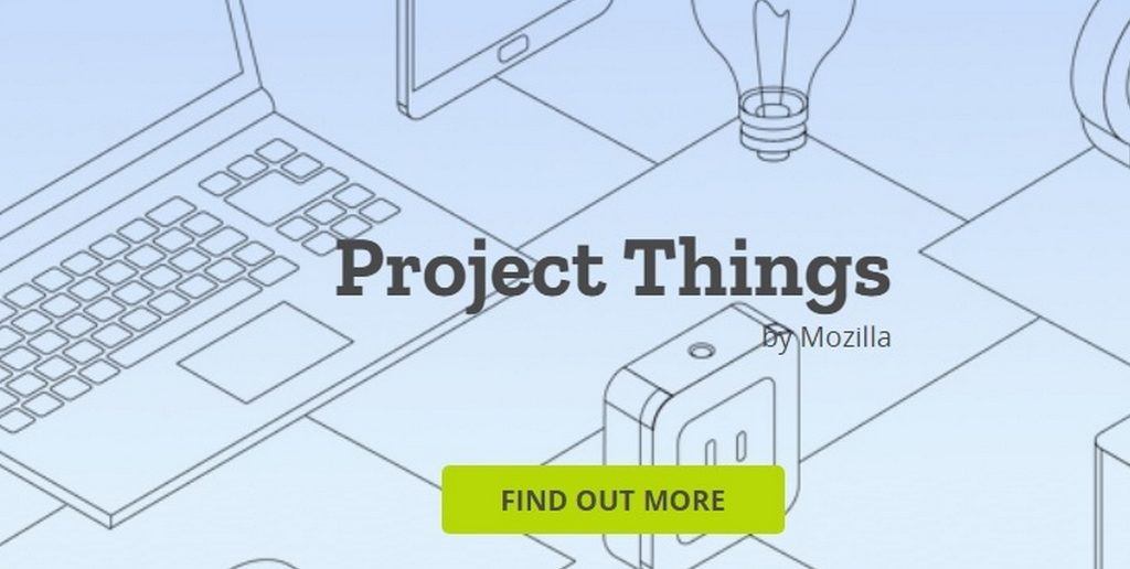 projet things mozilla une