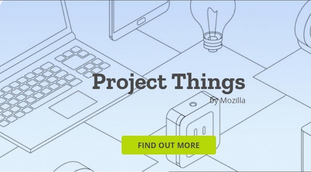 Project Things, la domotique selon Mozilla