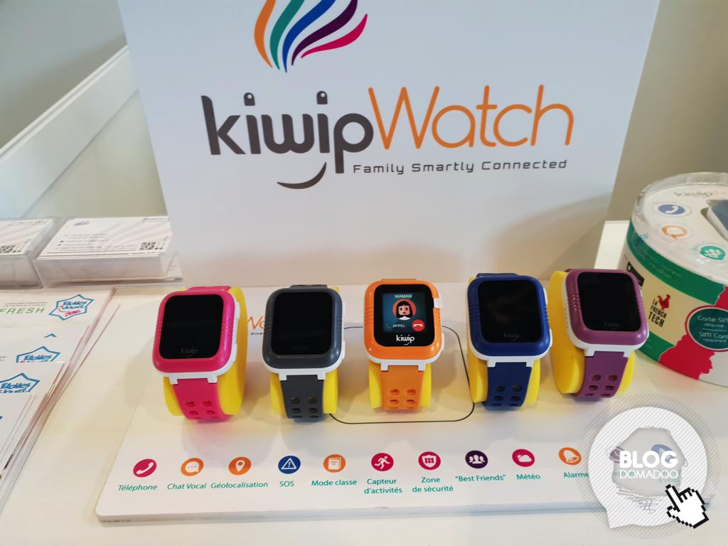 KiwipWatch: la montre connectée adaptée aux enfants, pensée par les parents