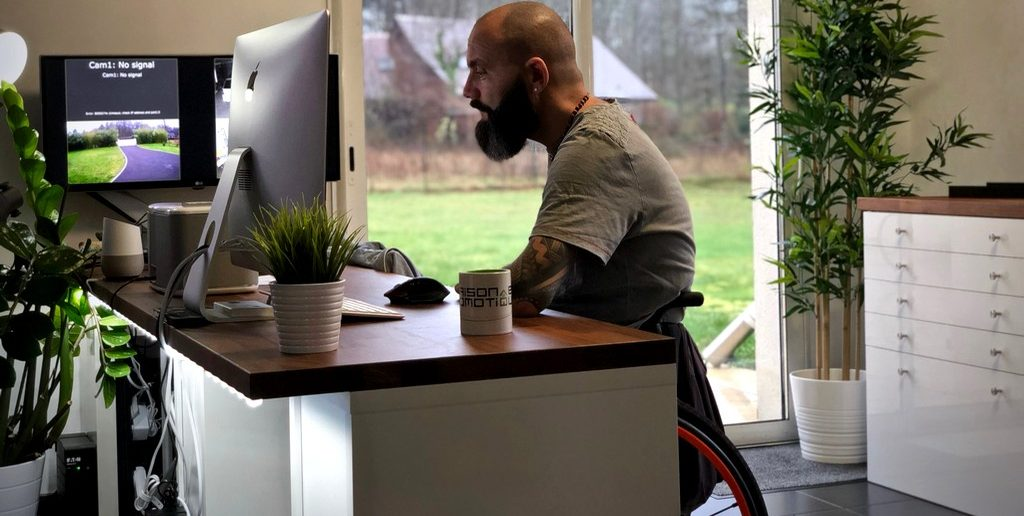 Maison connectée pour les personnes à mobilité réduite