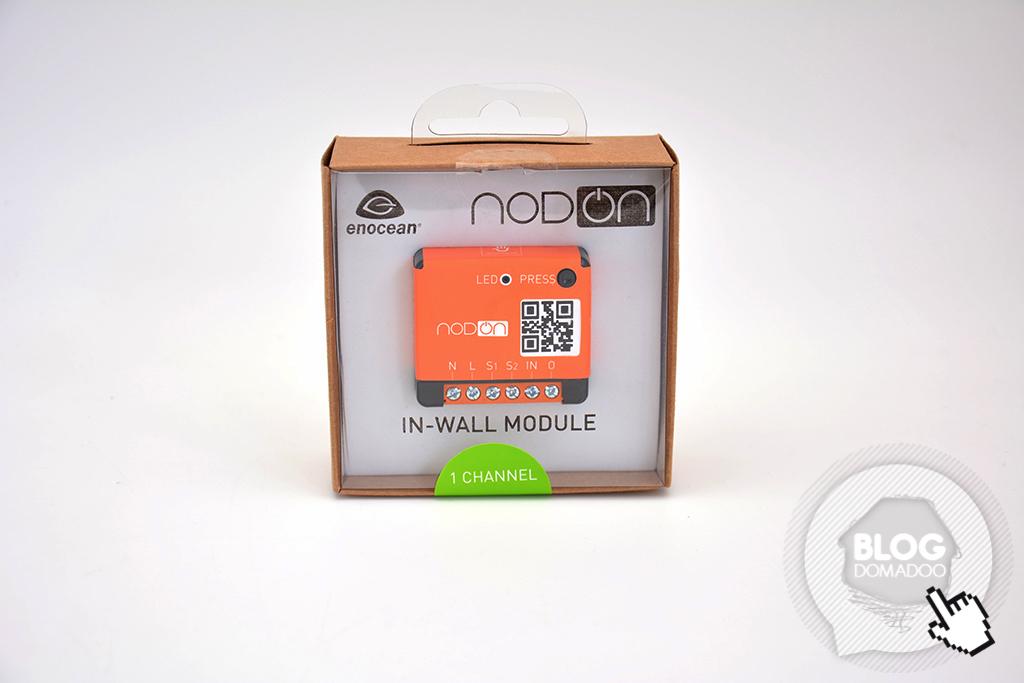 Orange NodOn SIN-2-1-01 Module encastr/é EnOcean 1 canal contact sec 2300 W