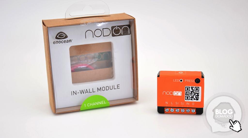Présentation du micromodule commutateur EnOcean NodOn SIN-2-1-01