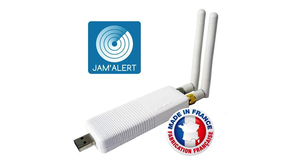 Avec la fonction Jam'Alert, l'interface radio RFPlayer se transforme en détecteur de brouillage