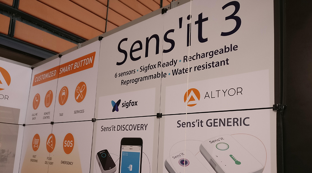 Sigfox lance sa solution Sens'it Discovery