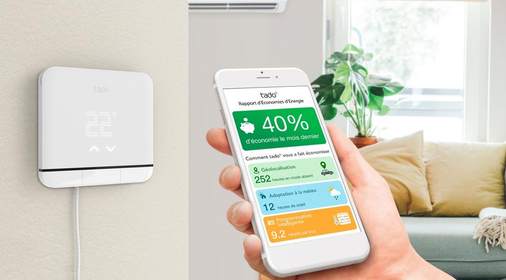 Tado lance son nouveau thermostat intelligent pour climatisation