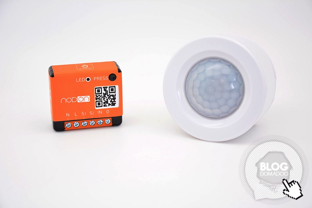 enocean in wall module nodon motion sensor
