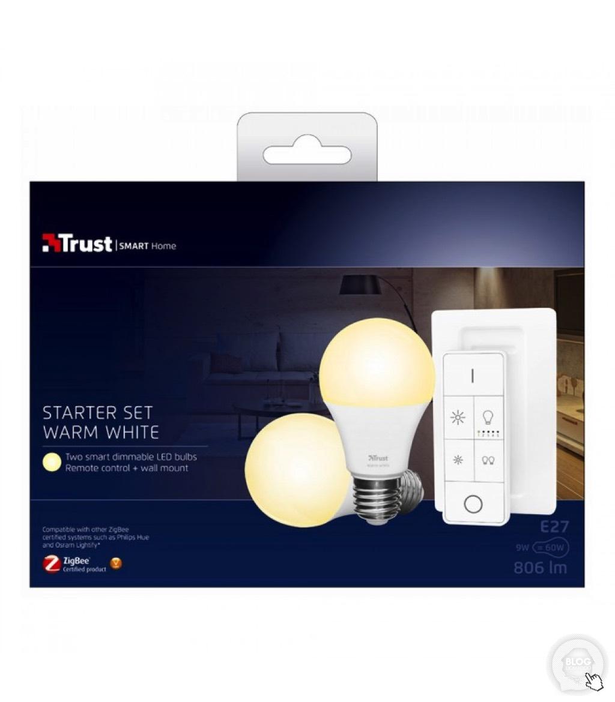 Découverte du pack de 2 ampoules et télécommande Zigbee de Trust