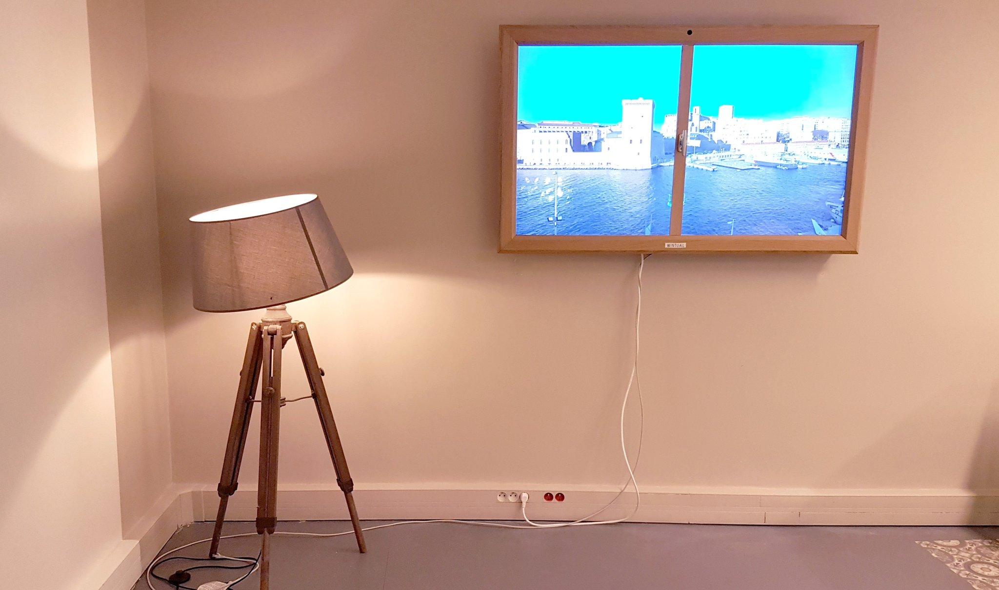 Virtual Window, la fenêtre virtuelle et connectée à installer n'importe où