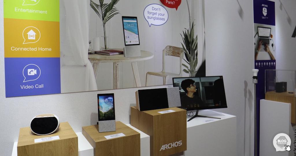 #IFA2018 : Archos annonce la commercialisation de trois assistants domestiques avec écran