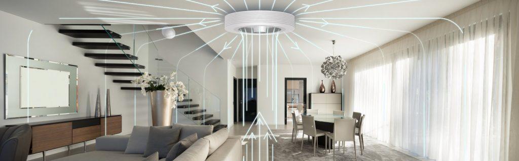 exhale fans ventilateur de plafond sans pales 5RvD6fm
