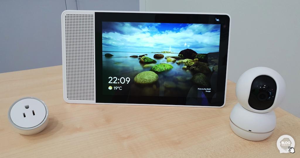 #IFA2018: Lenovo dévoile des périphériques domotiques pour son écran Google Smart Display