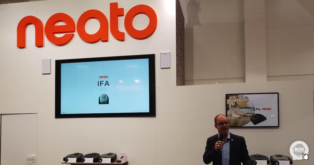 #IFA2018: les robots aspirateur Neato gèrent maintenant différents étages et zones