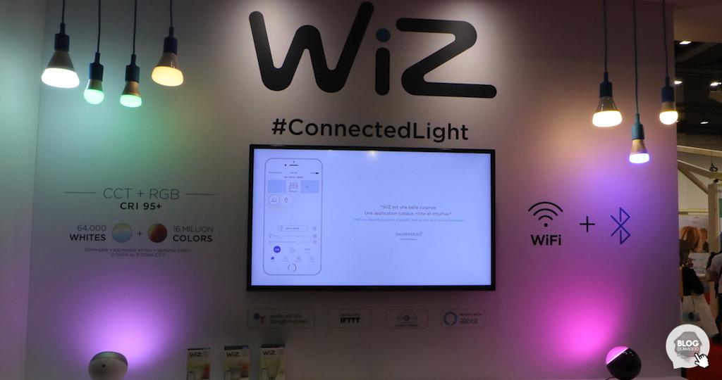 #IFA2018 : WiZ présente ses innovations dans l'éclairage connecté
