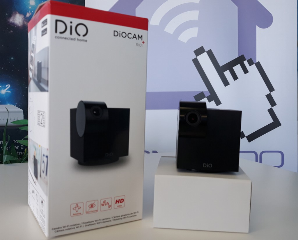 DiO Cam-RI01 la caméra rotative wifi simple et efficace