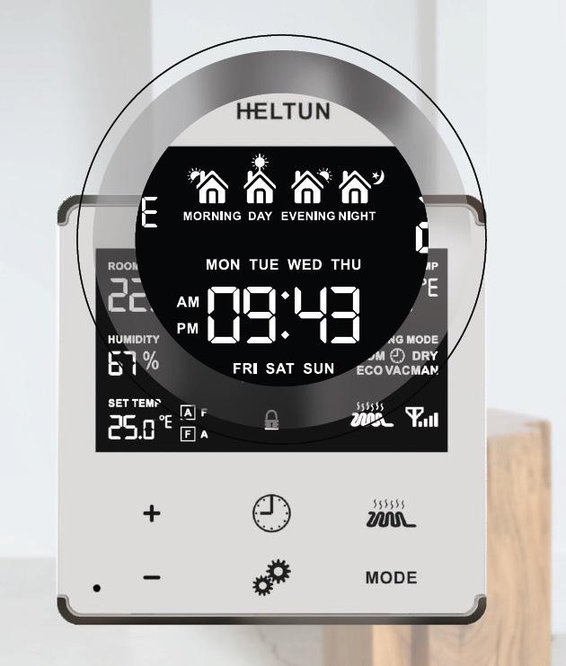 Votre chauffage devient intelligent avec le thermostat Heltun
