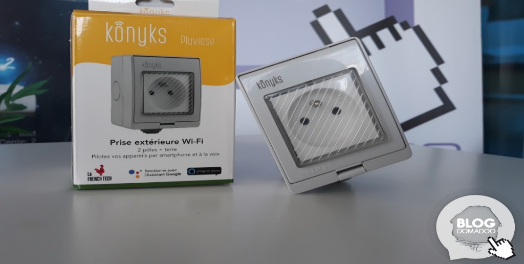Konyks Pluviose, la prise extérieure connectée Wi-Fi