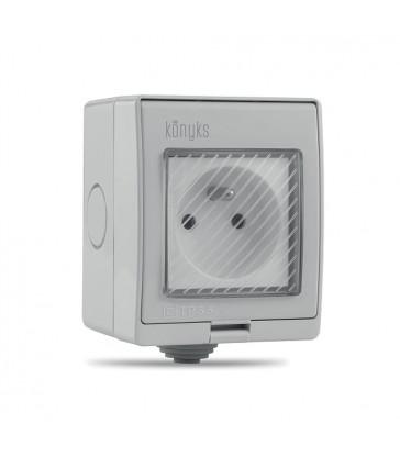 konyks prise electrique exterieure connectee wi fi pluviose