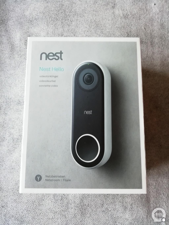 #Test de la sonnette vidéo connectée Nest Hello