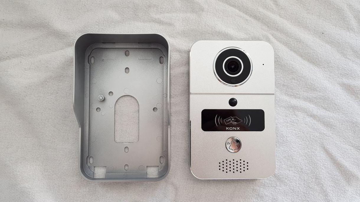 Test du portier vidéo connecté KONX KW02c