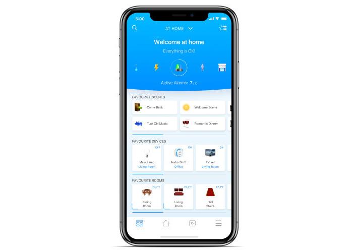 fibaro new app