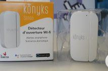 Détecteur d'ouverture Wi-Fi Konyks Senso