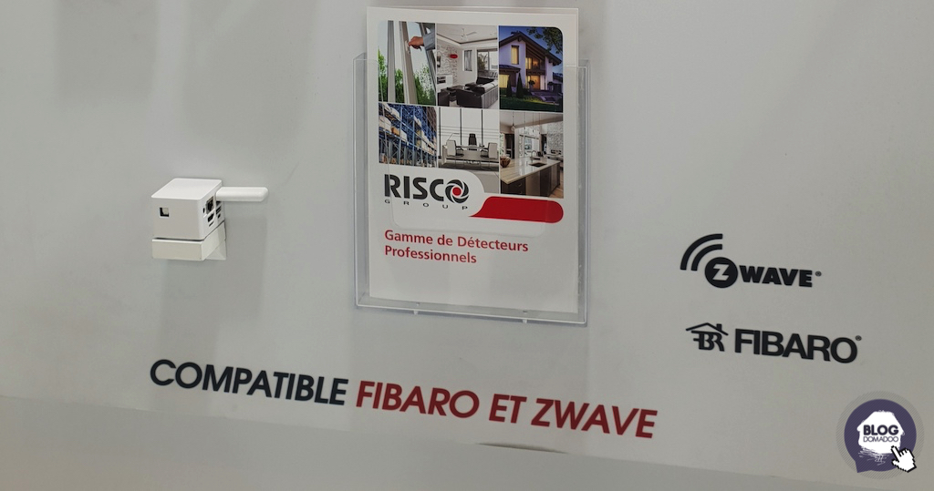 Les alarmes Risco ajoutent le contrôle de la maison en Z-Wave