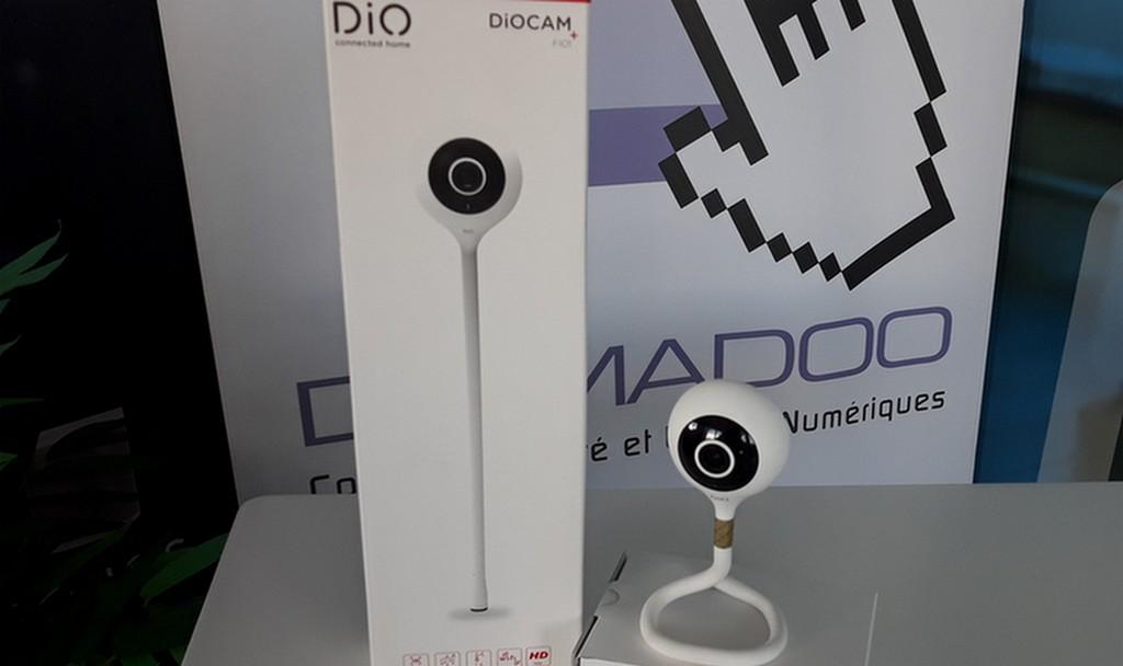 DioCam+ FI01, la caméra wi-fi avec détection sonore