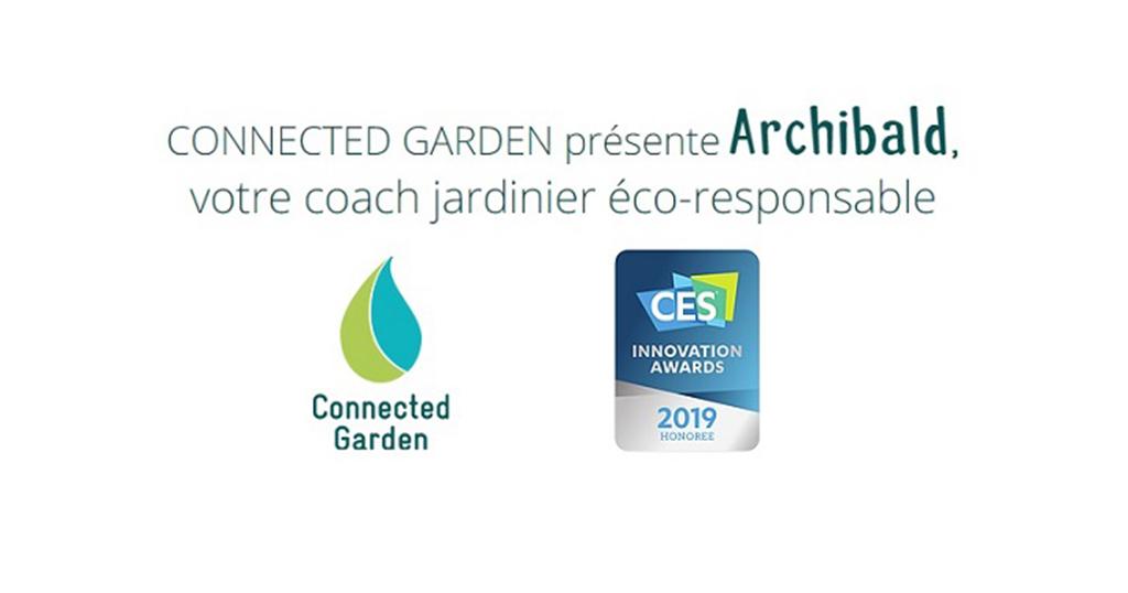 Archibald de Connected Garden l'assistant de votre jardin