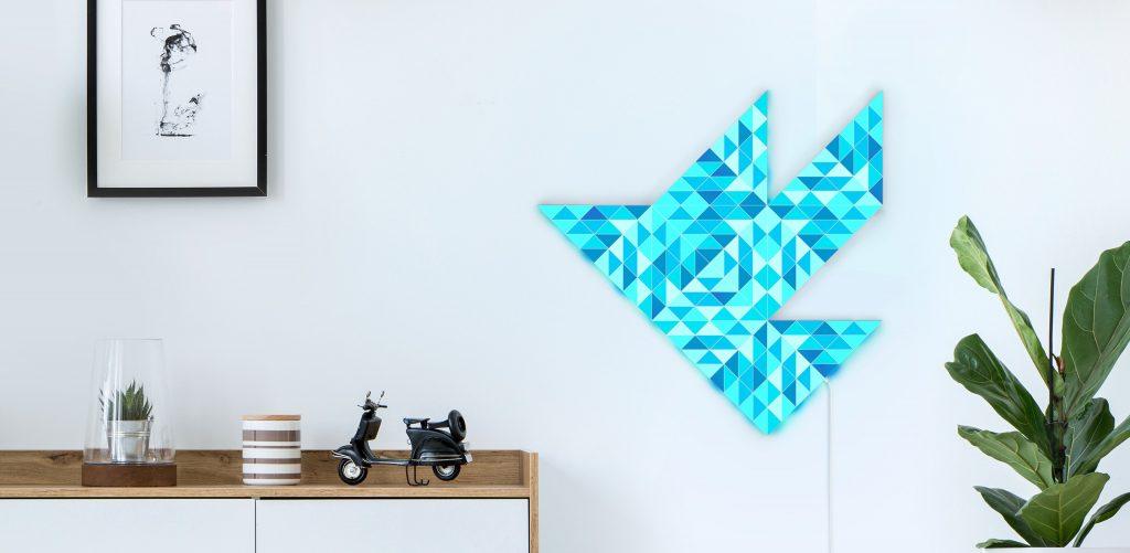 1. Bird on a wall. Blue SKY