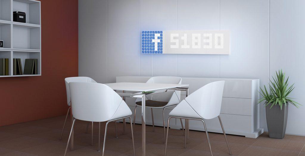 10. Facebook counter