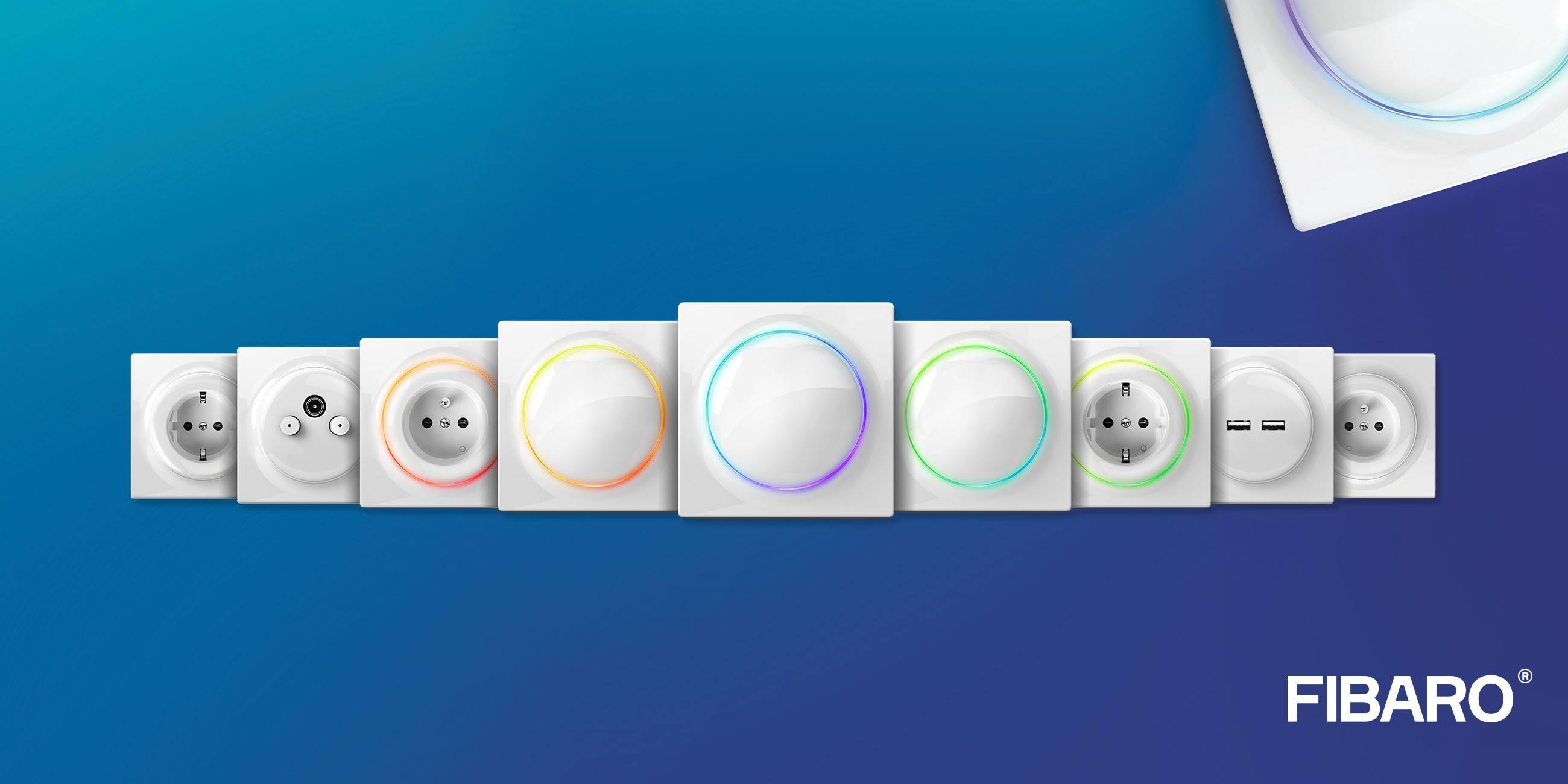 Fibaro annonce une gamme d'appareillages connectés Walli et sa nouvelle application mobile au #CES2019