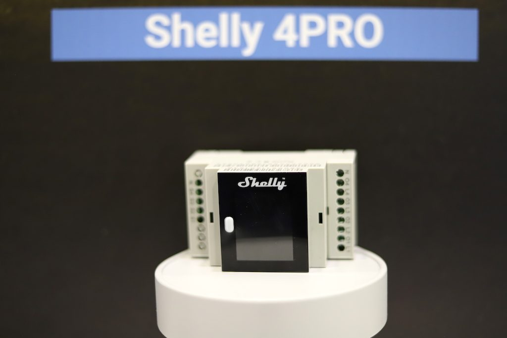 Shelly4PRO CES2019