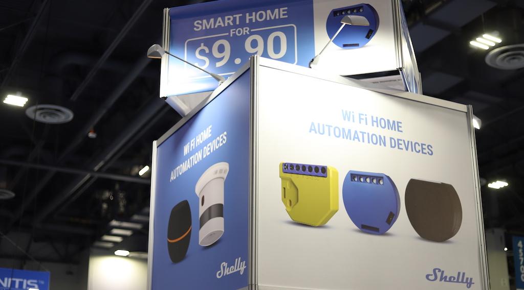 #CES2019 : Shelly, une gamme complète de modules domotiques Wi-Fi