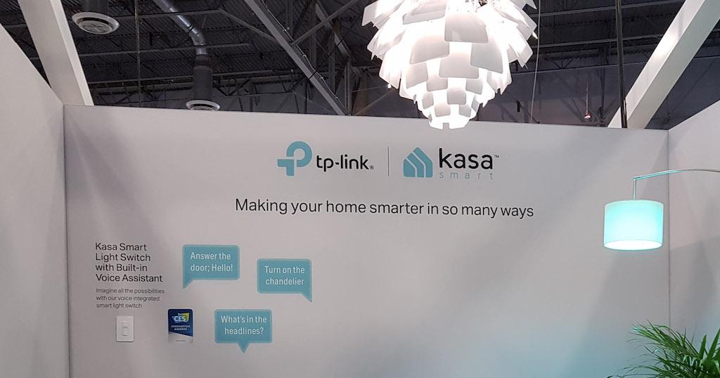 TP-Link étend sa gamme domotique Kasa au #CES2019