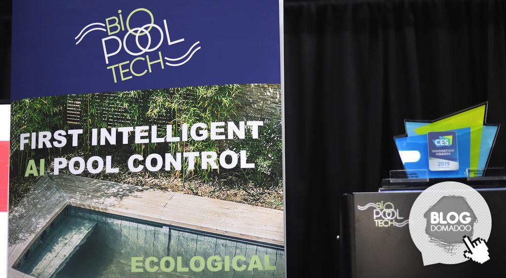 #CES2019 : BIOPOOLSAFE rend votre piscine bio, intelligente et connectée