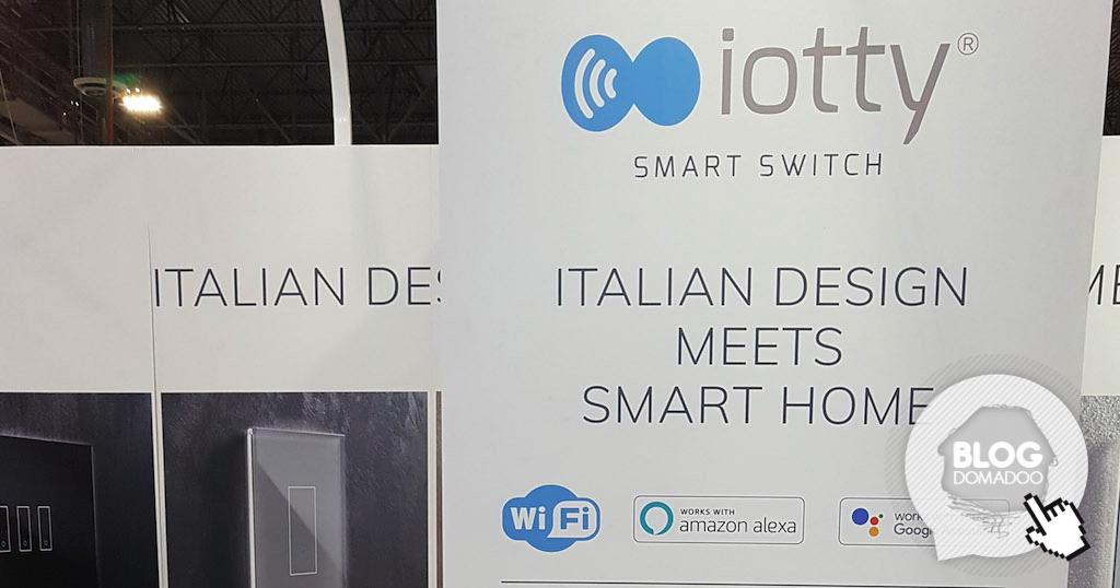 iotty lance son interrupteur connecté Wi-Fi au #CES2019