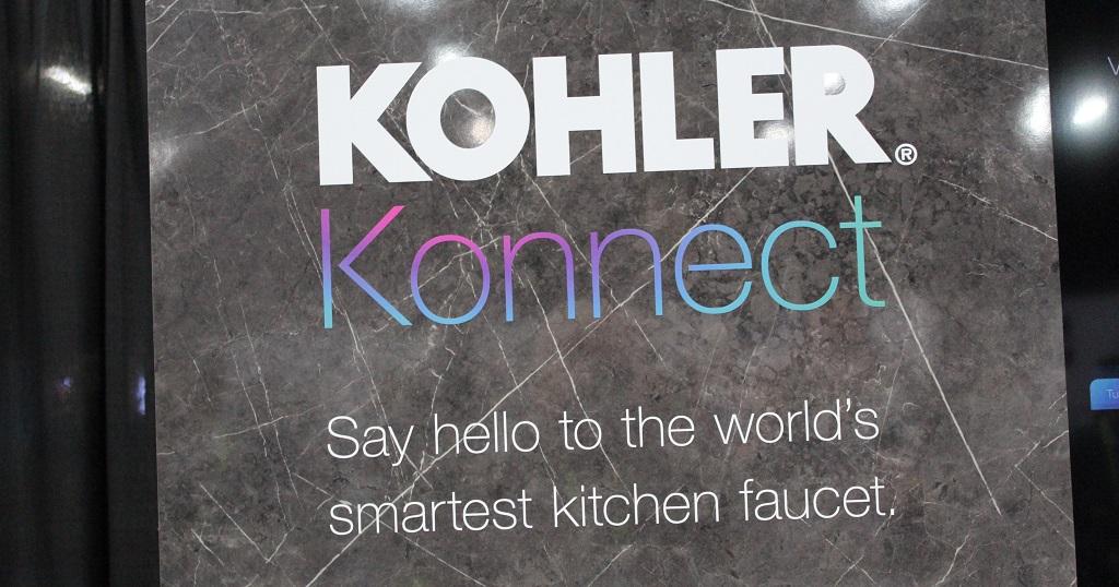 Robinet Sensate Kohler Konnect : Best of Innovation de la catégorie Smart Home au #CES2019
