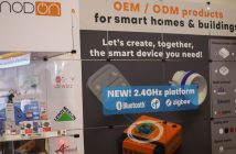 Nodon présente sa plateforme 2.4 GHz Bluetooth, Zigbee, Thread lors du #CES2019