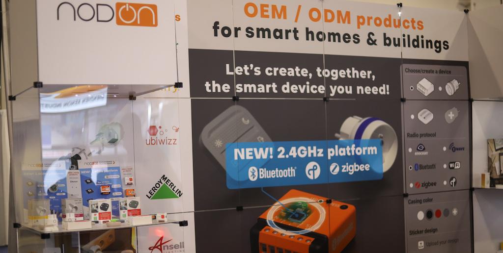 Nodon présente au #CES2019, sa plateforme 2.4 GHz (Bluetooth, Zigbee, Thread) dédiée au B2B