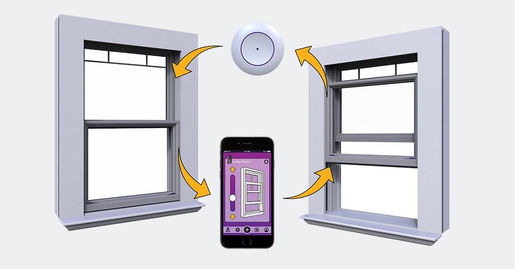 Un prototype de Smart Window américaine dévoilé au #CES2019